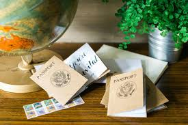 how to make a passport style invitation 10 tips for easy
