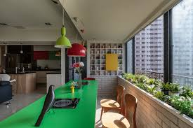 home elements interior design co colorful family home in taiwan inspiring social interaction http