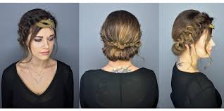 how to romantic braided updo gopro tutorial video career