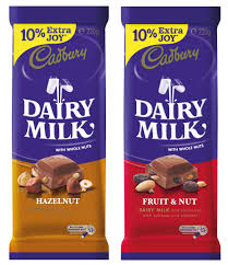 cadbury dairy milk chocolate has a makeover two new flavours in