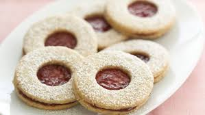bow tie cookies with apricot preserves finecooking