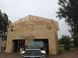 2 Car Garages by 2 Story Home Addition With 2 Car Garage Moss Construction