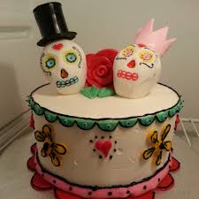 Chocolate Swirl Cake Decoration Day Of The Dead Themed Wedding Anniversary Cake Marble Cake