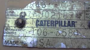 caterpillar 3412 generator set youtube