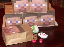 minecraft goody bags apple falls minecraft party favors and decorations