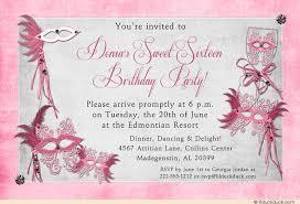 how to create sweet 16 birthday invitations amazing invitations