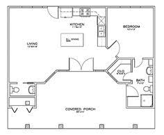 Small Pool House Plans 1 Bedroom 700 Sq Ft House Plans Expand Kitchen Into Dining Room