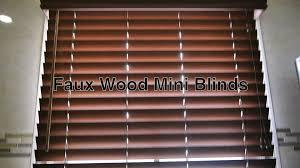 mini wood blinds with design photo 1702 salluma
