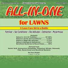 lawn care programs for do it yourself all in one for lawns natures lawn and garden