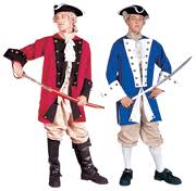Colonial Halloween Costume Paul Revere Colonial Captain Halloween Costume American History