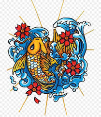 butterfly koi one million tattoos designs to create and color
