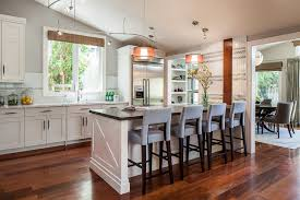 kitchen island wall island attached to wall houzz