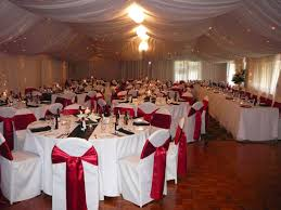 simple red and white wedding decorations house design ideas