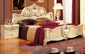 White Traditional Bedroom Furniture by Ivory Bedroom W Optional Case Goods By Camelgroop Italy