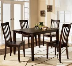 Butterfly Chairs Outdoor Kitchen Table Round 5 Piece Set Glass Extendable 6 Seats Brown