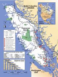 Vancouver Canada Map by Vancouver Island Map World Map