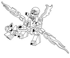 coloring pages ninjago dragon corpedo com