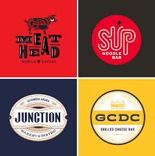 restaurant logo design on behance