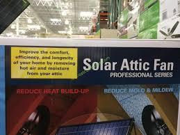 solar attic fan costco costco 892670 us sunlight solar attic fan 20w name costcochaser
