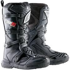 dirt bike motorcycle boots o neal racing element youth boys dirt bike motorcycle boots black