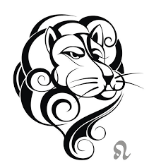 zodiac sign leo tattoo design sticker pixerstick u2022 pixers u2022 we