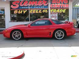 dodge stealth red 1995 caracas red mitsubishi 3000gt sl coupe 16996795 gtcarlot