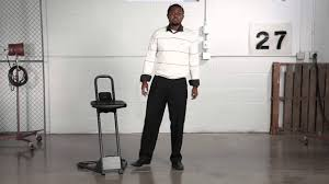 safco stand alone stool youtube