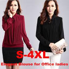 s plus size blouses designer plus size s 3xl 4xl black s work shirt