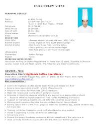 Private Chef Resume Chef Resume Examples Buy This Cv Chef Cv Sample Supervising The