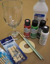 Painting 101 Basics Diy by Painting Glassware 101 Useful Tips For Using Folkart Enamel Paint
