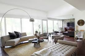 furniture u0026 accessories arco lamp and ottoman sofa floral