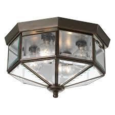 progress lighting flush mount progress lighting p5789 octagonal 4 light flush mount with clear
