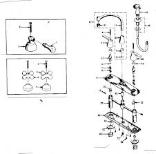 Peerless Kitchen Faucet Repair Parts by Pewter Peerless Kitchen Faucet Parts Diagram Single Hole Two