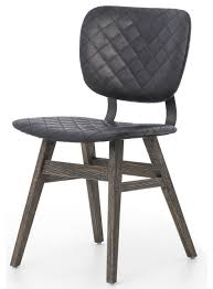 beautiful industrial dining chair with drifterdustrial loft black