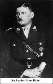 SA Leader Ernst Roehm