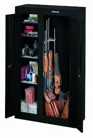 gun security cabinet reviews the stack on gcdb 924 10 gun double door steel security cabinet