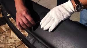 nissan almera dashboard pocket fixing a dash pad air bubble youtube