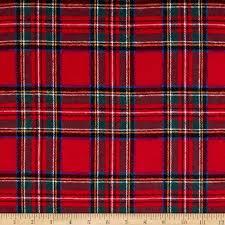 tartan pattern yarn dyed flannel plaid red discount designer fabric fabric com