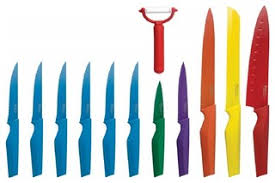 designer kitchen knives non stick knife set 12 contemporary kitchen knives and