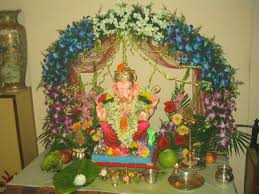 Temple Decoration Ideas For Home Eco Friendly Ganesh Eco Friendly Decorations Ideas