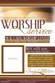 create church flyers with our flyer maker postermywall