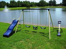 best metal swingset the backyard site