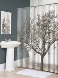 masculine bathroom shower curtains brown bathroom and tree curtain bathrooms pinterest brown