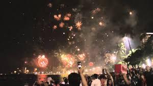 lanterns new year new year s fireworks and sky lanterns above pattaya