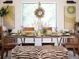 Accessories For Dining Room Table Metallic Accessories Hgtv