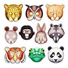 animal masks craft diy free printable no signup or anything love