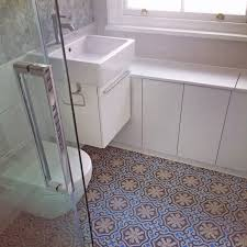 apm finished bathroom with beautiful terrazzo cement tiles