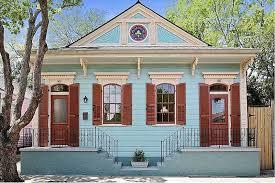 historic faubourg street shotgun house circa old houses old