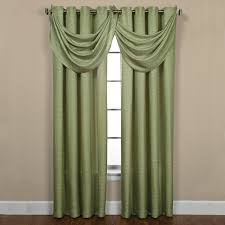 this sutton grommet celery curtain panel pair can have a dressy or