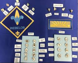 webelos arrow of light cub scout adventure loops and pins the boy scout utah national